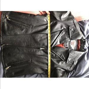 Harley-Davidson Jackets & Coats - Harley davidson black logo leather jacket